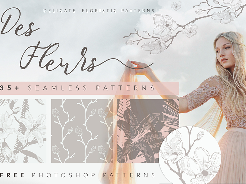 elegant seamless patterns for photoshop