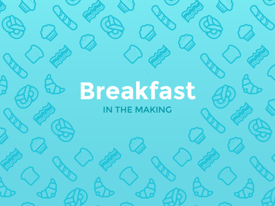 Image of breakfast pattern