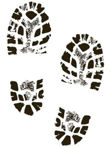 boots shoes shoe print clip art free vector 4vector rh 4vector com Military Boot Prints Clip Art boot print images clip art free