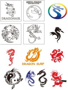 free vector Dragon vector collection