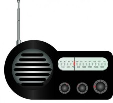 free vector Old Radio