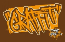 free vector GRAFFITI - design Tommy Brix