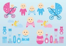 free vector Vector Baby Graphics