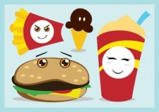 free vector Fast Food Vector