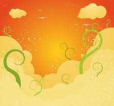 free vector Beautiful Sky Vector