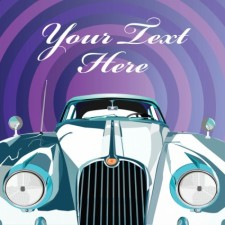 free vector Luxury Limousine Invitation