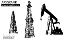 free vector Oil well Vectors