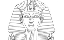 free vector King Tut Vector