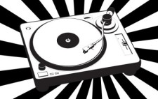 free vector Music turntable vector