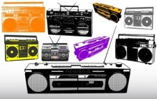 free vector Different Radio & Music System Vectors