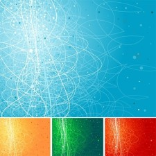 free vector Cool background design elements vector