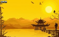free vector Oriental Background