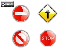 free vector Road Signs