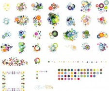 free vector Colorful Flower Vector