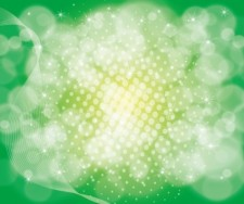 free vector Green Bokeh Abstract Design Vector