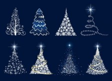 free vector Christmas Tree Vector Graphics