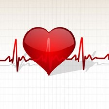 free vector Heart with Life Line Vector