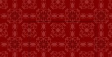 free vector Red floral pattern
