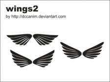 free vector Dccanim Wings 2