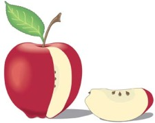 free vector Apple 4
