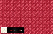 free vector REDmillion pattern TWO