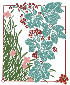 free vector Floral illustration