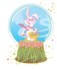 free vector Rabbit 5