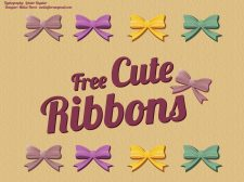free vector Beautiful Ribbon Vectors