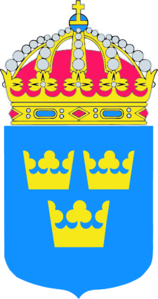 free vector Sweden Coat Of Arms