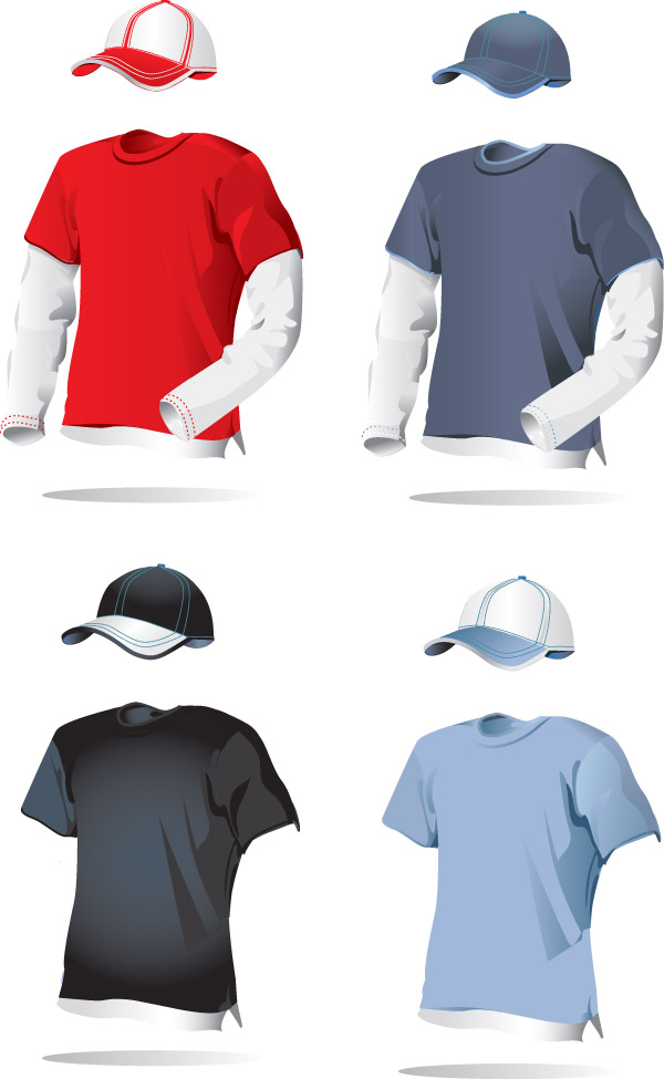 free vector 1 blank vector clothing