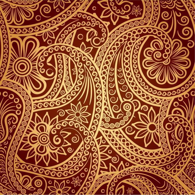 free vector 1 exquisite classical pattern vector
