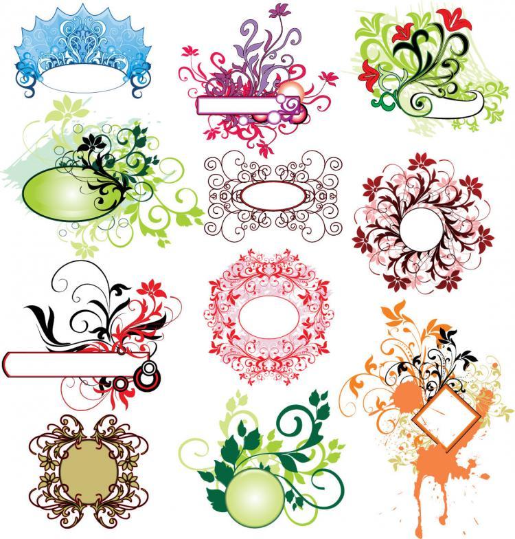 12 Practical Vector Floral Illustration Free Vector 4vector
