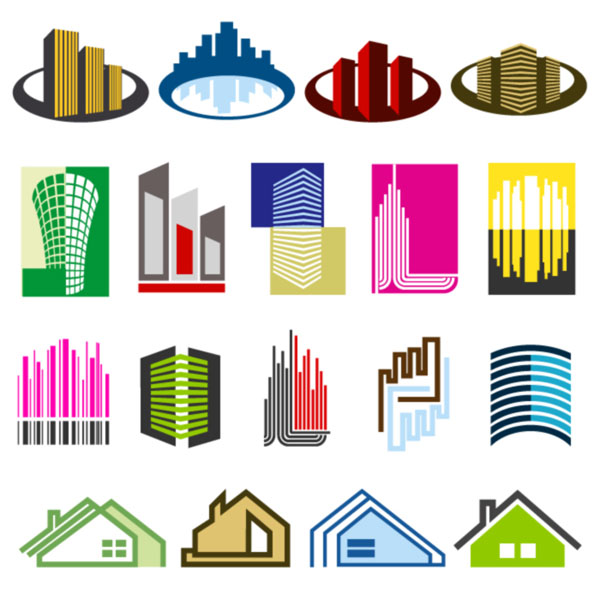 free vector 16 Free Real Estate Vector Logos