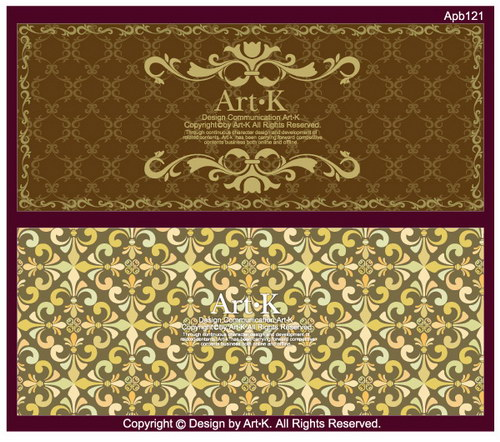 free vector 18 of the retro elegant lace pattern vector