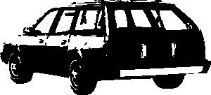free vector 1989 Chevrolet Celebrity Wagon clip art