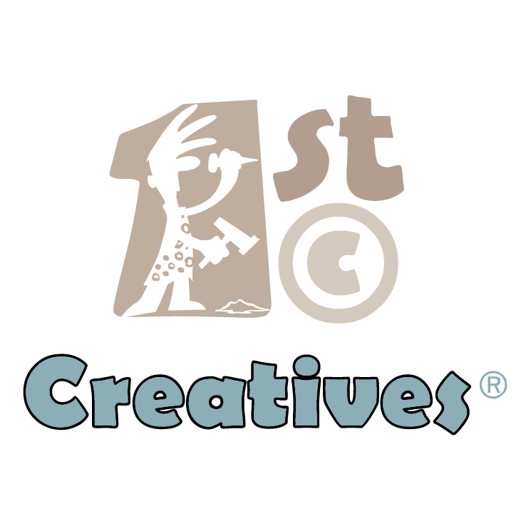 1st Logo 1st Creatives Incorporated is Free Vector Logo Vector That You Can Download