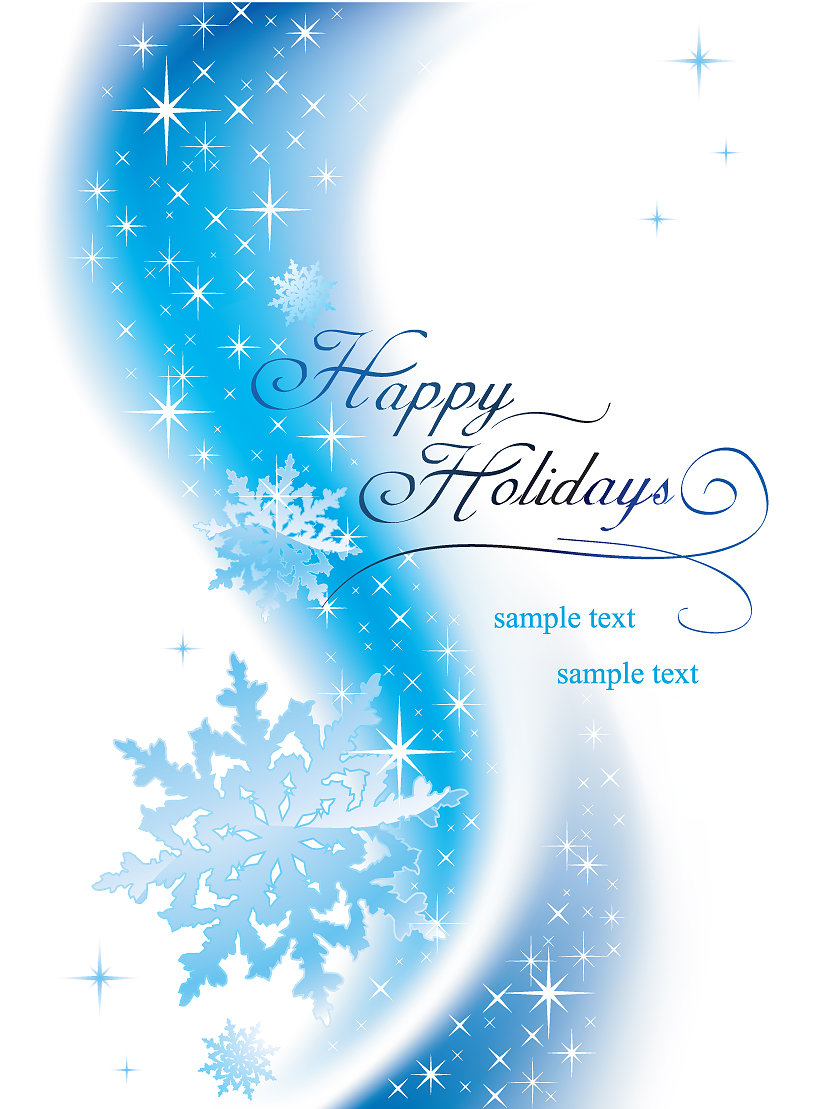 2 Beautiful Snowflake Background Vector Free Vector 4vector