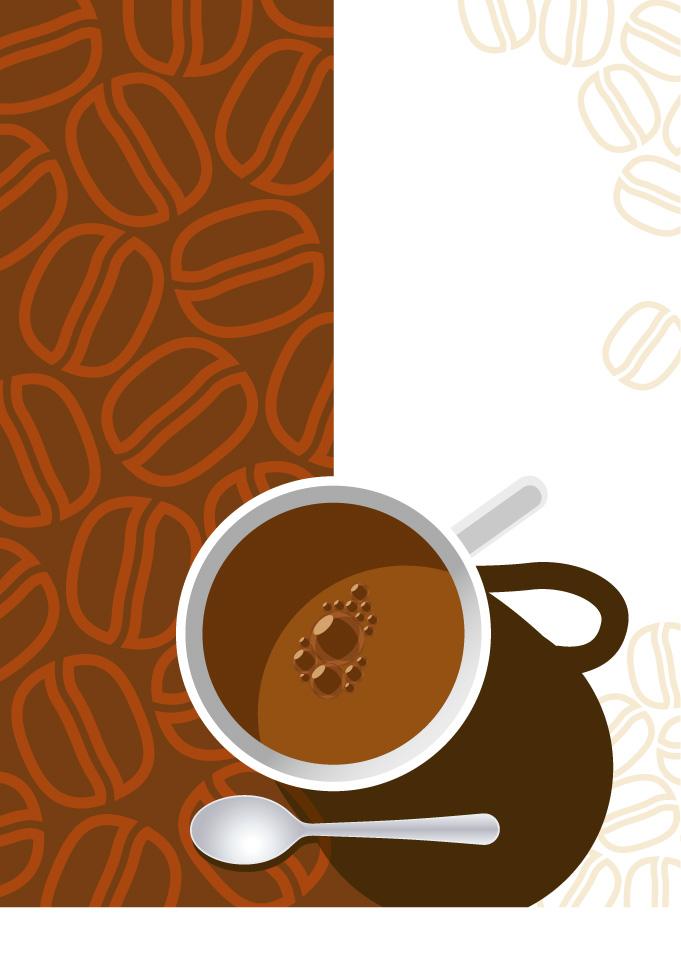 free vector 2 coffee cup clip art