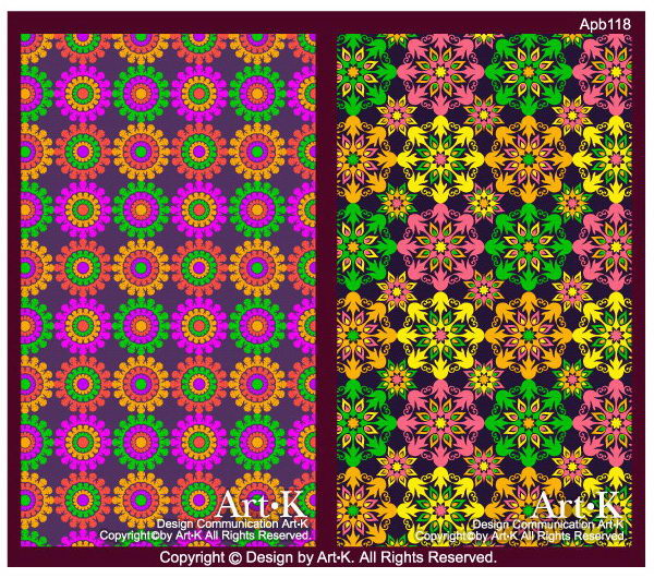 free vector 2 colorful flowers background base map vector artwork