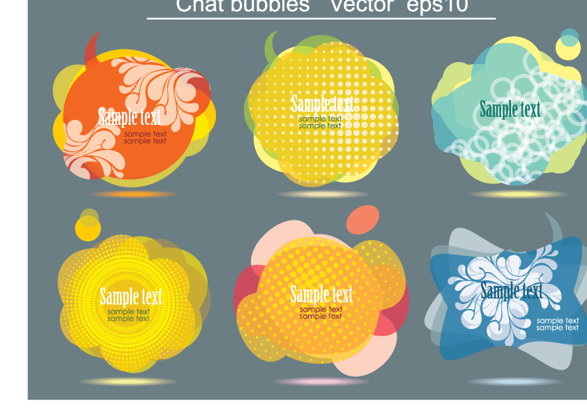 free vector 2 pattern vector fashion