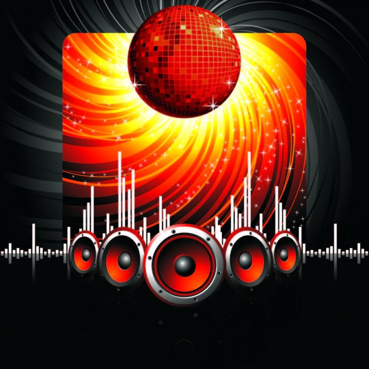 free vector 2 the trend of musical elements vector