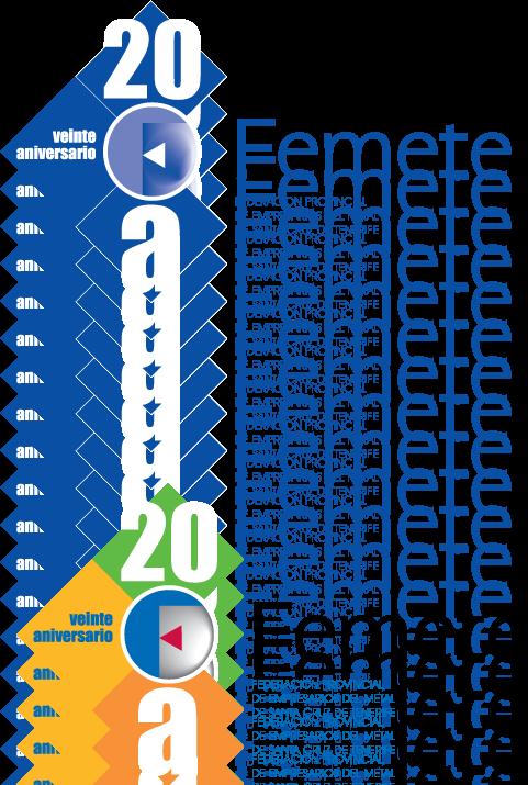 free vector 20 Aniv-Femete logo
