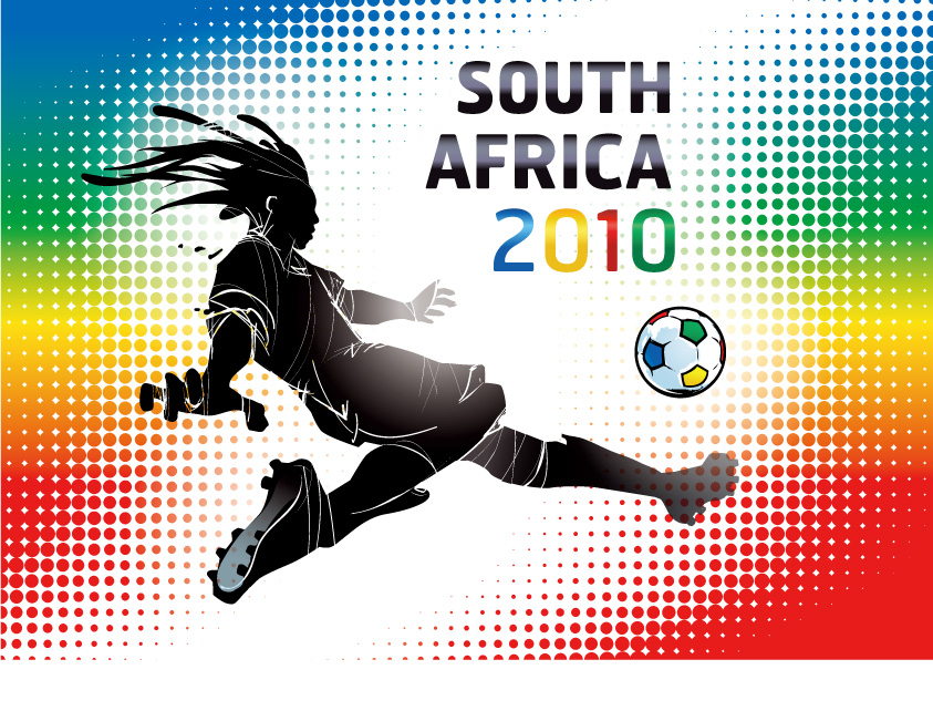 free vector 2010 south africa world cup album vector