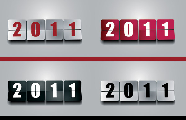 free vector 2011 new year clip art