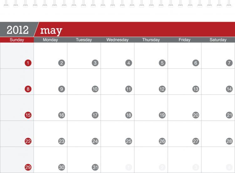 Calendar Planner Vector Free : Calendar vector free