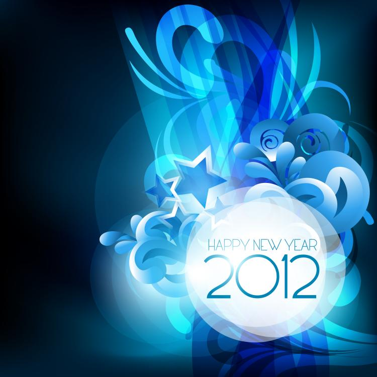 free vector 2012 starry background 04 vector
