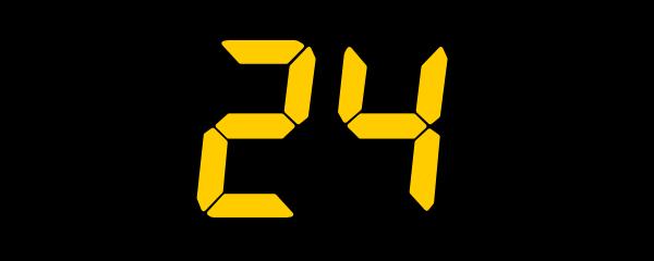 free vector 24 clip art 121027