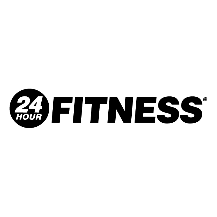 free vector 24 hour fitness 0