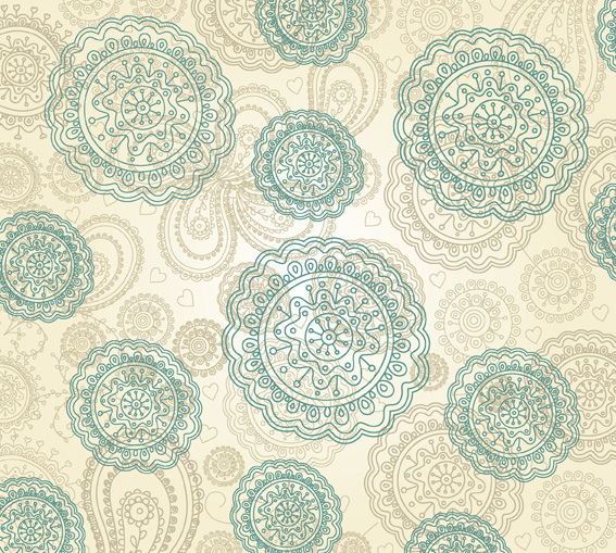 free vector 3 beautiful pattern vector background