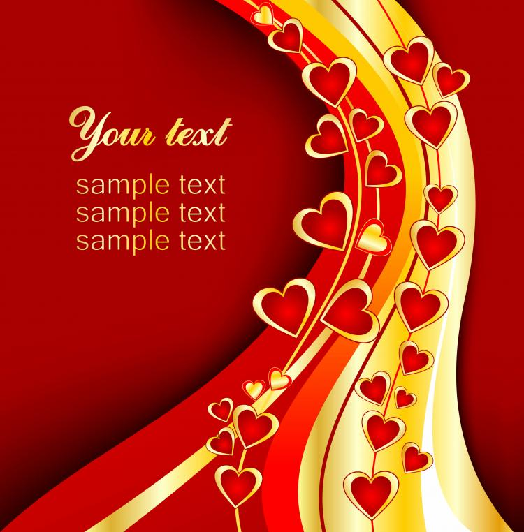 beautiful valentine day vector elements free vector / vector, Beautiful flower